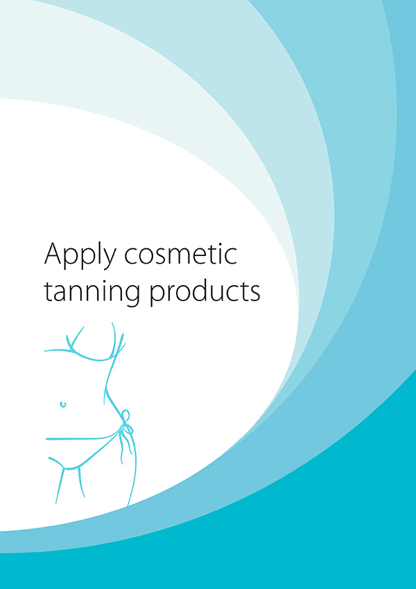 SHBBBOS001 Apply Cosmetic Tanning Products