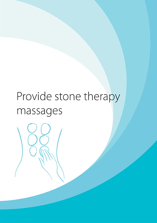 SHBBSPA003 Provide Stone Therapy Massages