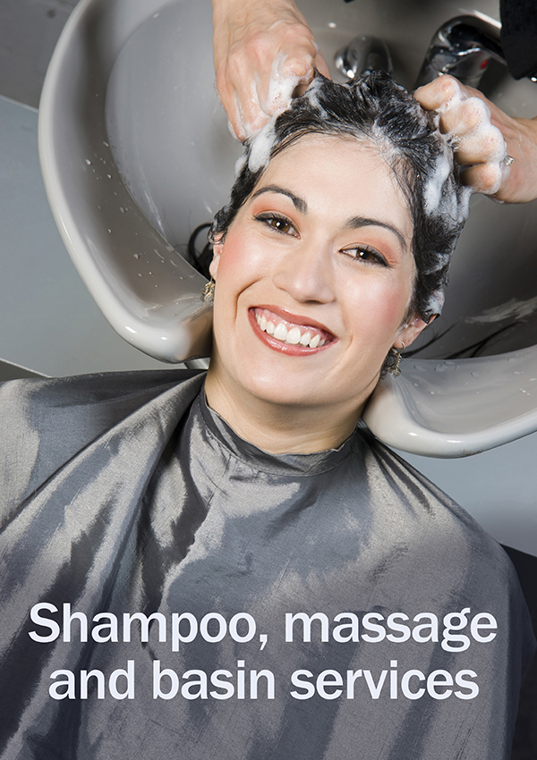 Shampoo, Massage and Basin Services (Student Edition)