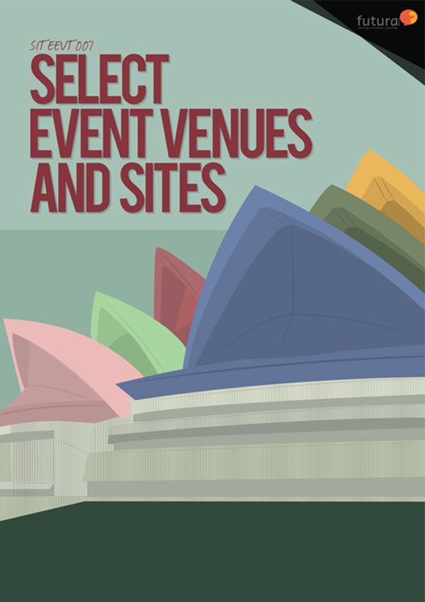 SITEEVT007 Select Event Venues and Sites