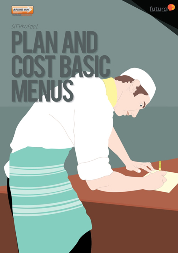 SITHKOP002 Plan and Cost Basic Menus